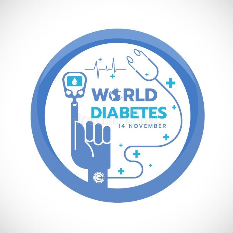 significado circulo azul diabetes
