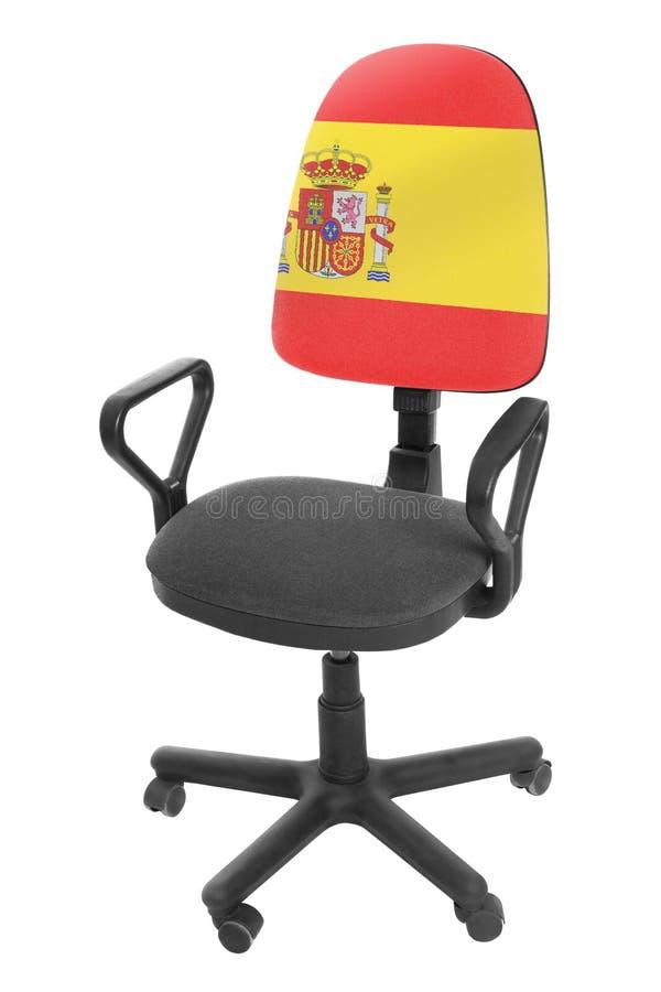 La bandera española imagen de archivo libre de regalías