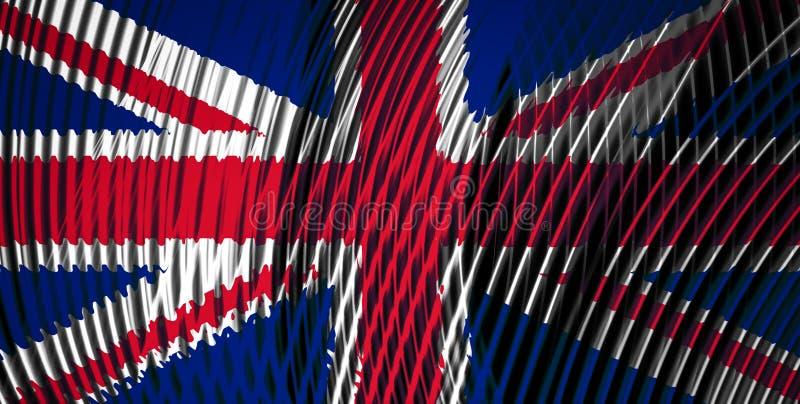 La bandera nacional de Reino Unido libre illustration