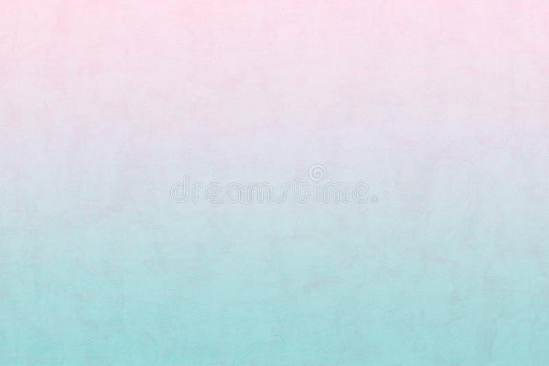 La bandera suavemente azul y rosada del color de la pendiente, wallpaper el extracto foto de archivo libre de regalías