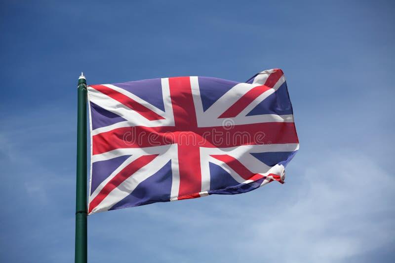 La bandiera del Regno Unito immagini stock