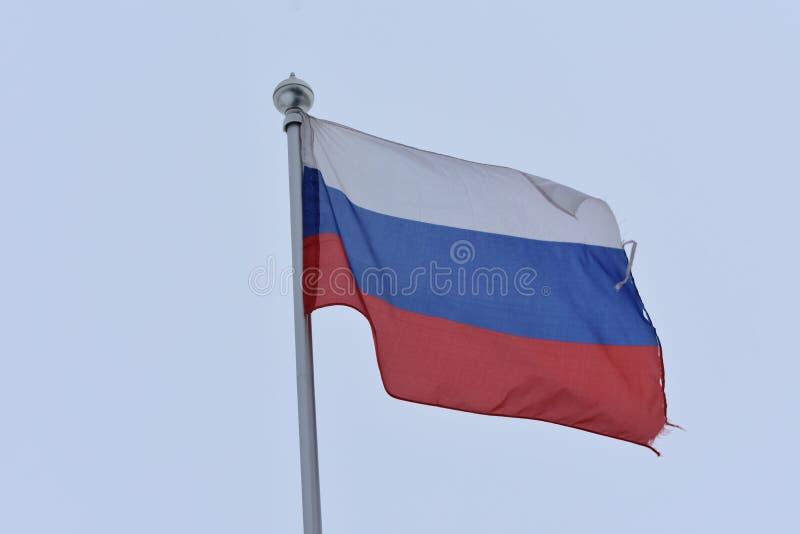 La bandiera della Federazione Russa fotografia stock