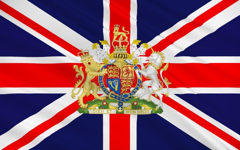 La bandiera della grande Londra, o di Londra, è una regione di Inghilterra illustrazione di stock
