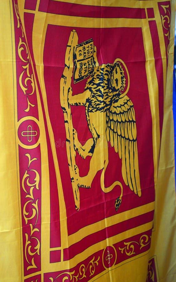 La bandiera della Repubblica di Venezia fotografie stock