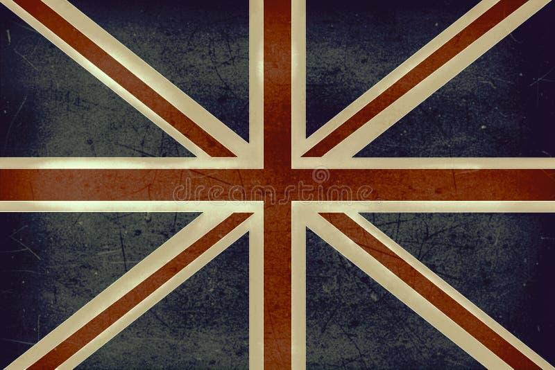 La bandiera di lerciume del Regno Unito fotografia stock