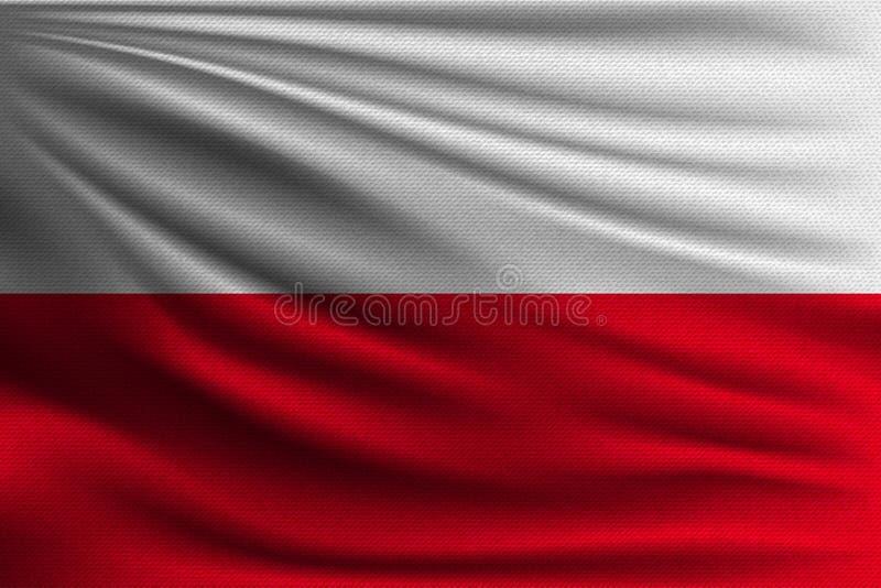 La bandiera nazionale illustrazione di stock
