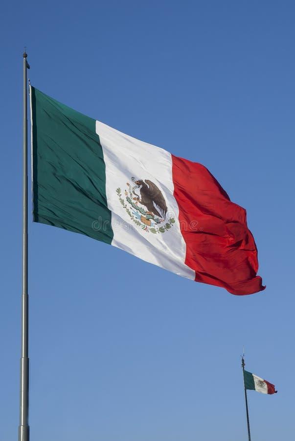 La bandiera del Messico fotografie stock