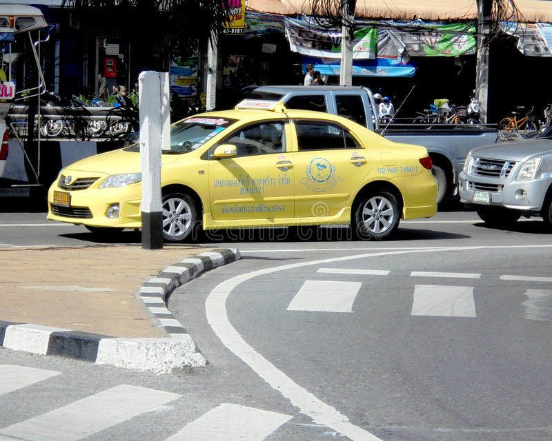 La Bangkok-Tailandia: Metro di taxi/carrozza a Bangkok Scelta per voi fotografie stock