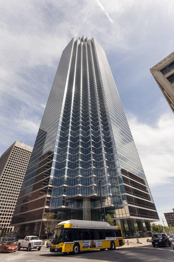 La Bank of America la plaza en Dallas, los E.E.U.U. imagen de archivo libre de regalías