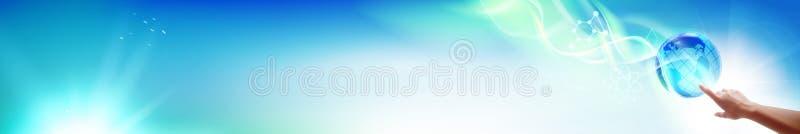 La bannière horizontale illustration stock
