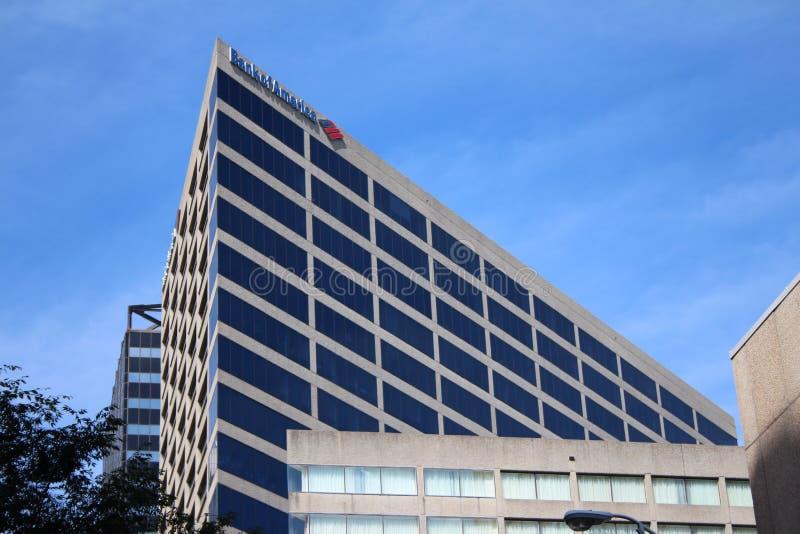 La Banque d'Amérique à Nashville photo stock