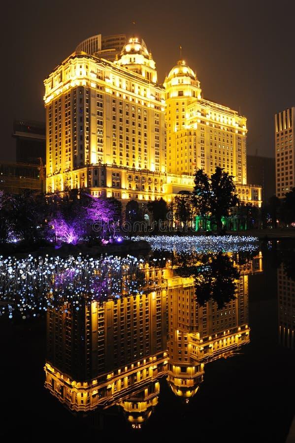 La Banque de Chine agricole à guangzhou images libres de droits