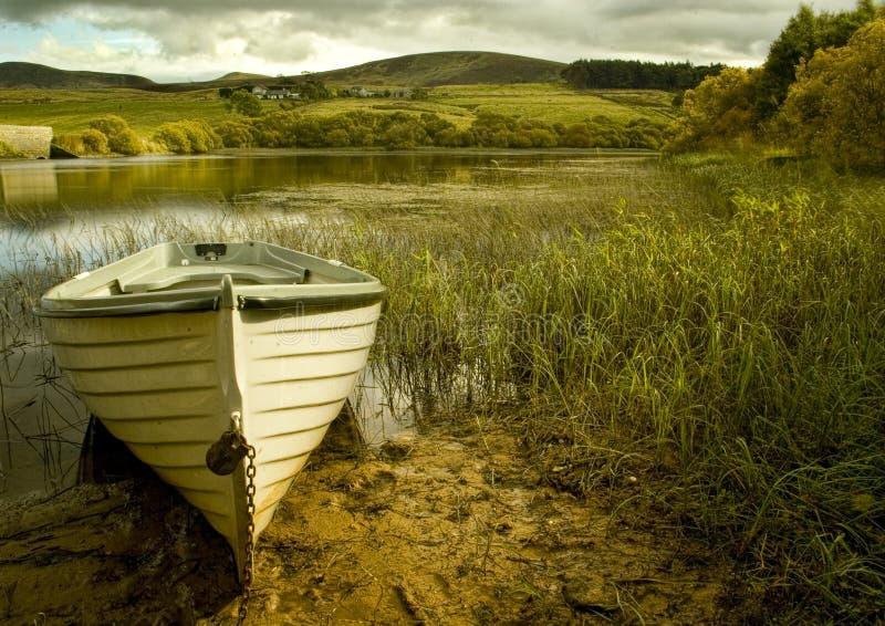 La barca fotografia stock libera da diritti