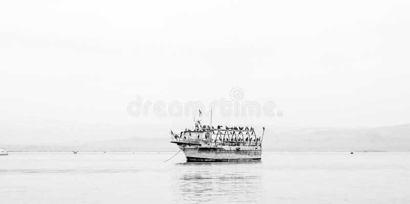 La barca del fantasma fotografie stock libere da diritti