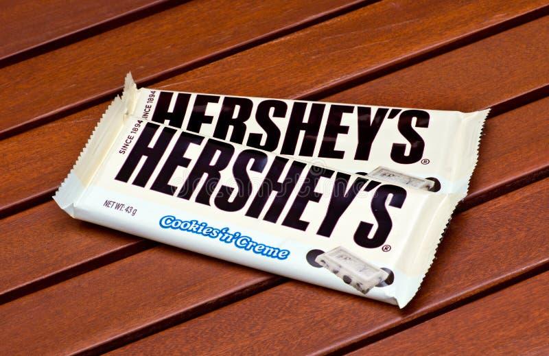 La barra di Hershey immagine stock libera da diritti