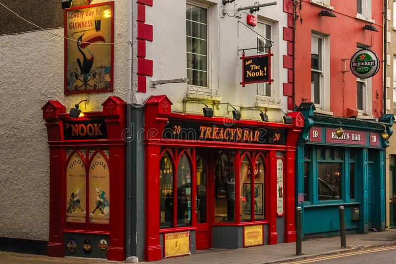 La barre de recoin Youghal l'irlande photographie stock