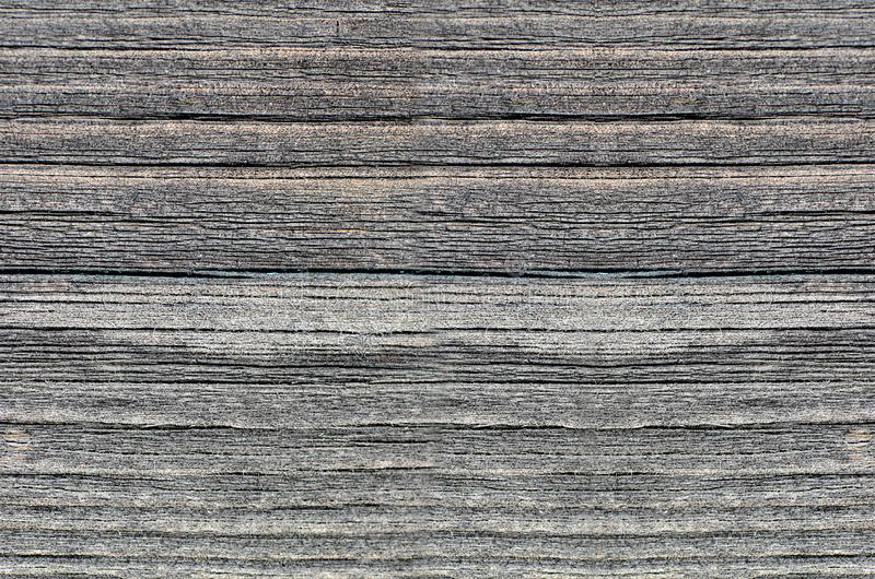 La barrière des conseils en bois en gros plan image libre de droits