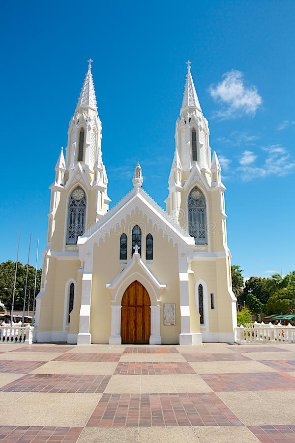 La BasÃlica Menor DE Nuestra Señora del Valle stock fotografie