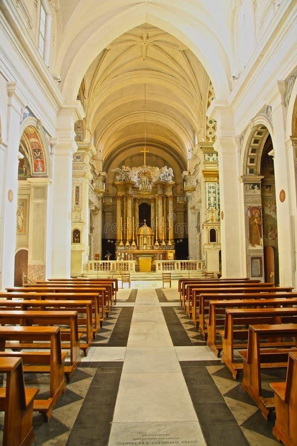 La basílica altera Italia foto de archivo