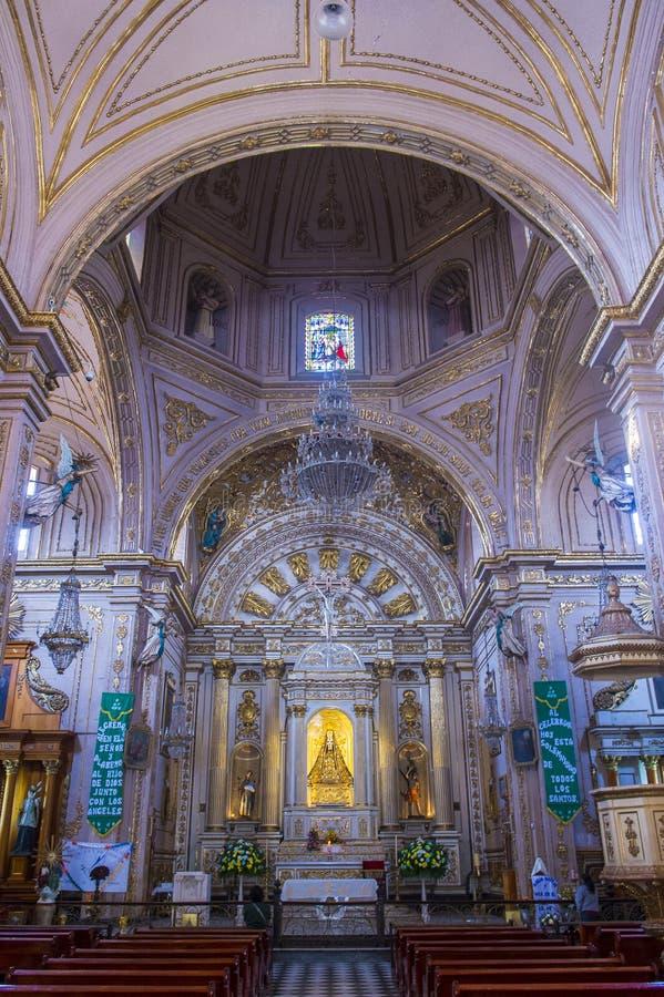 La basílica de nuestra señora de la soledad en Oaxaca México imagen de archivo libre de regalías