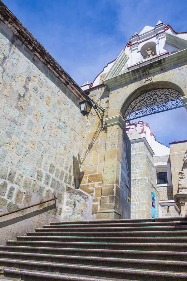 La basílica de nuestra señora de la soledad en Oaxaca México fotos de archivo