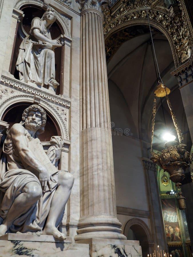 La basílica del santuario de la casa santa de Loreto en el AIE imagen de archivo libre de regalías