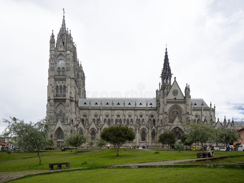 La basílica del voto nacional fotos de archivo