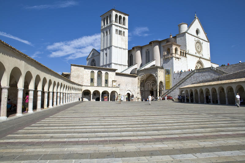 La Basílica di San Francesco foto de stock