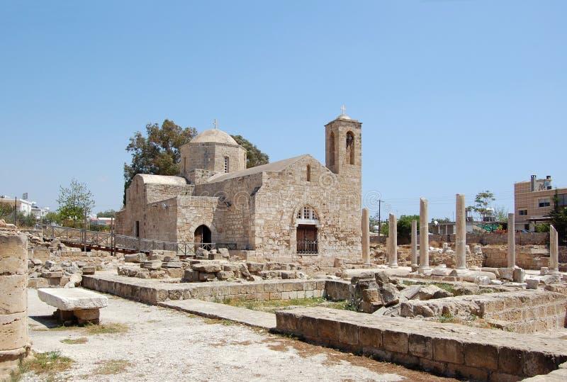 La basilica cristiana in anticipo fotografia stock