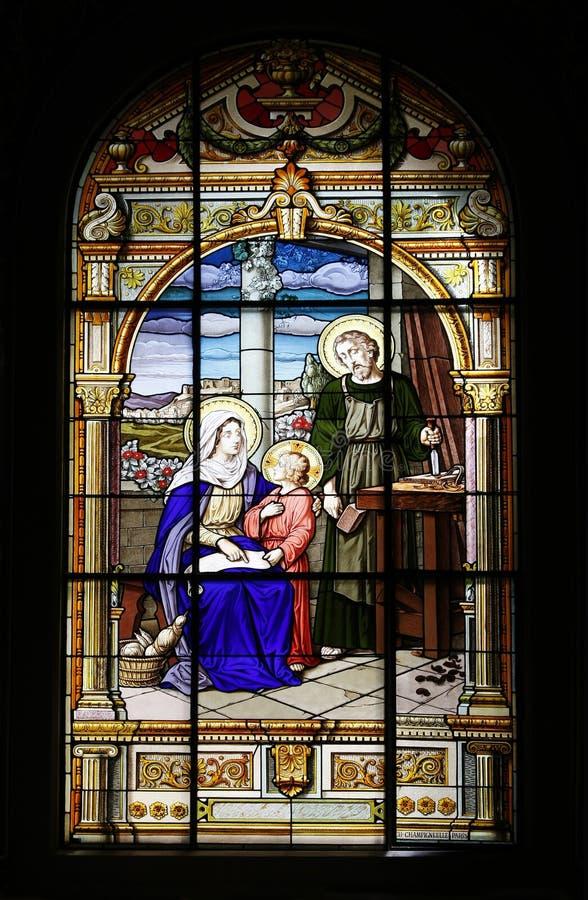 La basilica della cattedrale della st Joseph fotografia stock libera da diritti