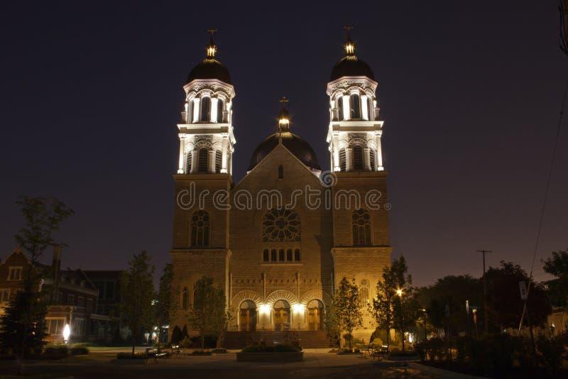 La basilica della st Adalbert immagini stock