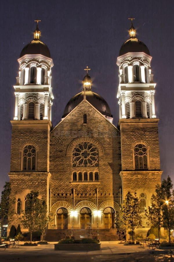 La basilica della st Adalbert fotografia stock libera da diritti
