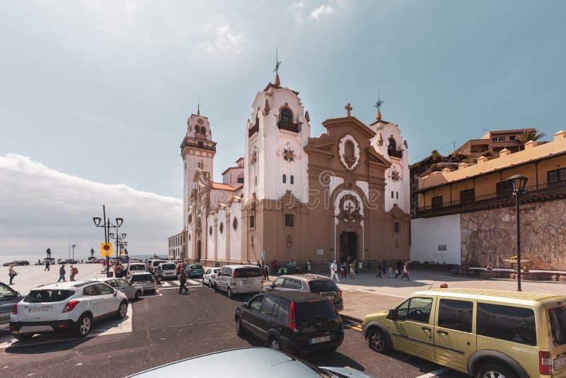 La basilica di Marian Shrine reale della nostra signora di Candelaria immagini stock libere da diritti