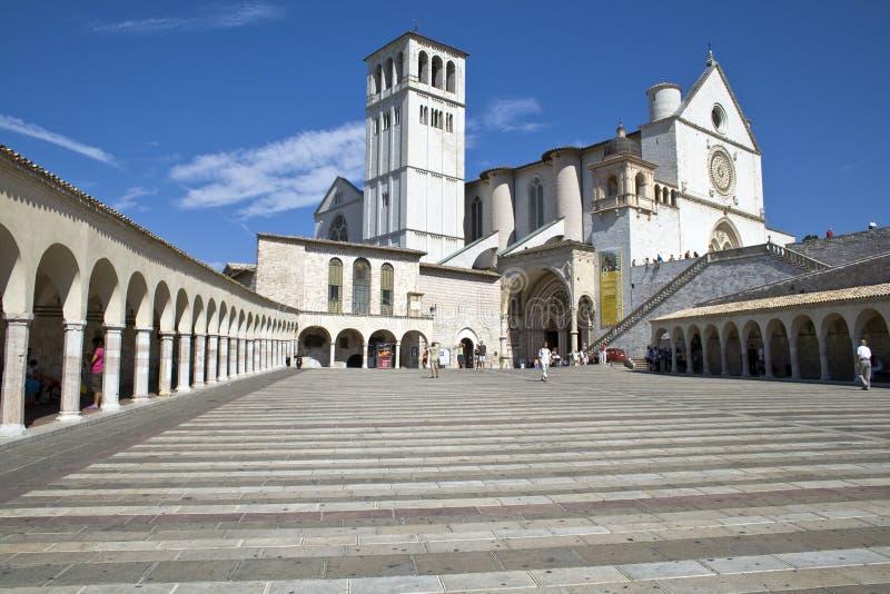 La Basilica di San Francesco stockfoto