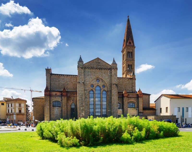 La basilica di Santa Maria Novella a Firenze, Toscana, Italia fotografie stock libere da diritti