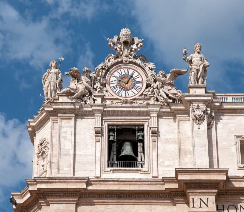 La basilica di St Peter - dettaglio fotografia stock