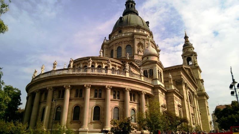 La basilica di St Stephen, una basilica cattolica a Budapest, Ungheria immagine stock