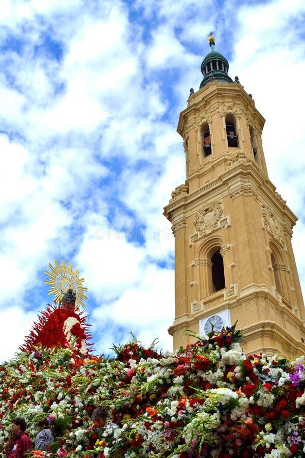 La basilique de Pilars images stock