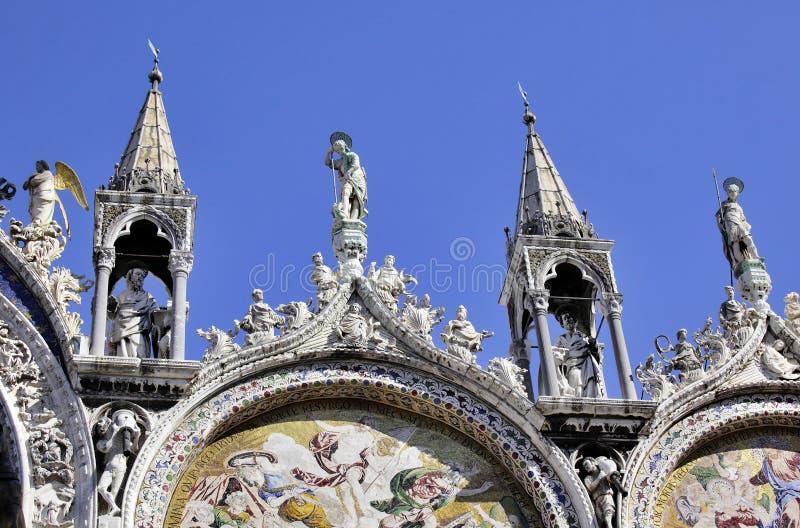 La basilique de repère de saint, Venise, Italie photo libre de droits