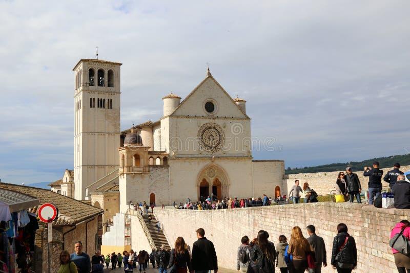 La basilique de San Francesco images stock