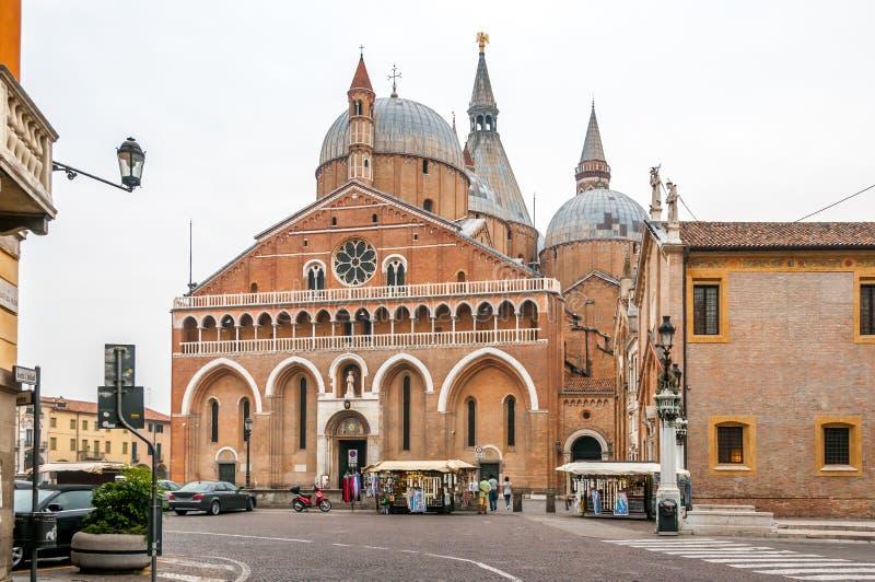 La basilique de St Anthony image libre de droits