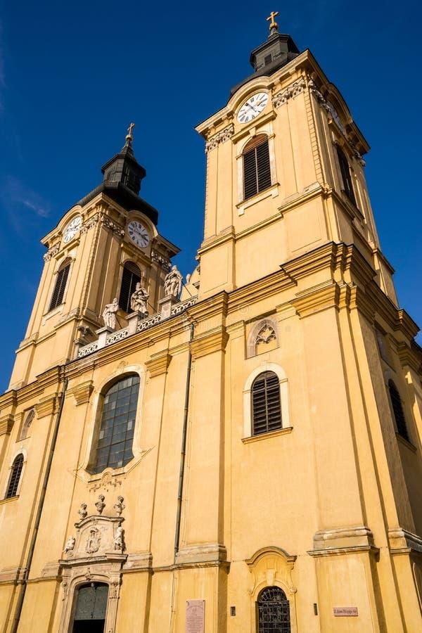 La basilique de St Stephen dans Szekesfehervar, Hongrie images stock