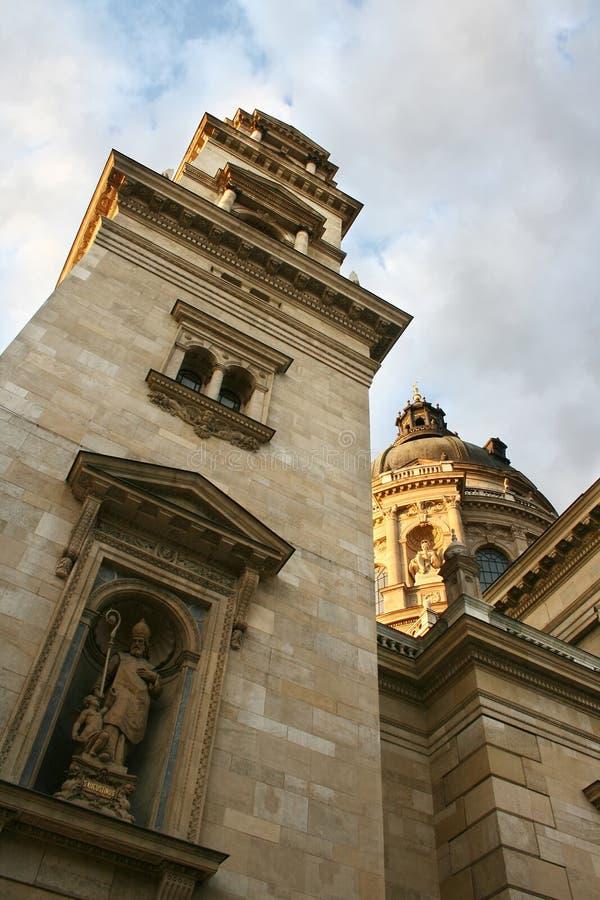 La basilique de Stephen de saint photos stock