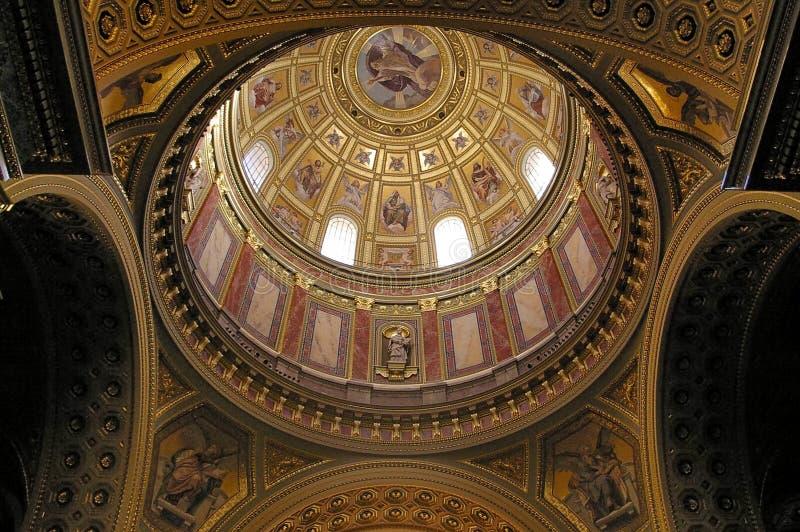 La basilique de Stephen de saint photos libres de droits