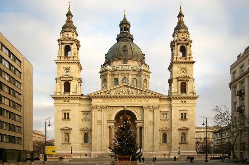 La basilique de Stephen de saint photo libre de droits