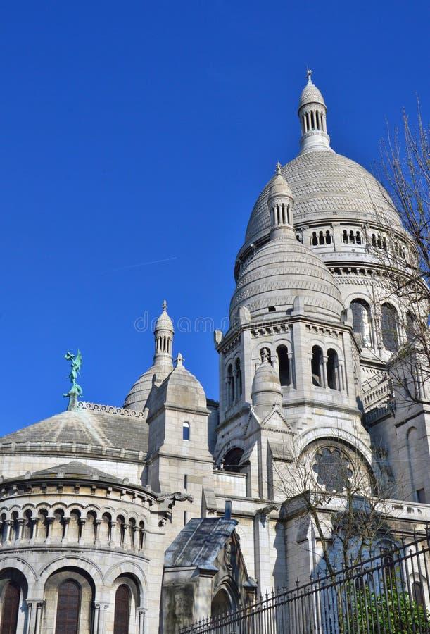 La basilique du coeur sacré de Paris photographie stock libre de droits