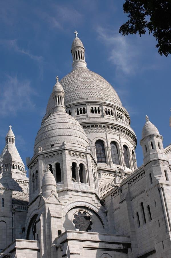 La basilique du Sacré Couer, Paris photographie stock