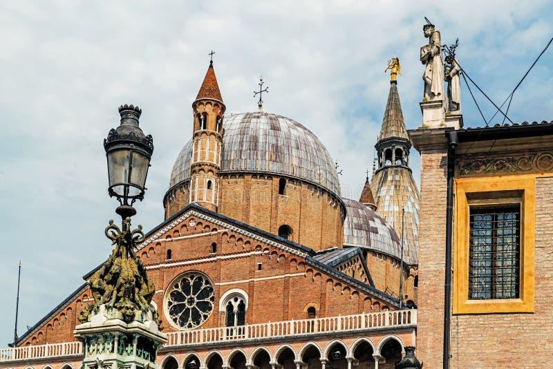 La basilique pontificale de St Anthony de Padoue, image stock