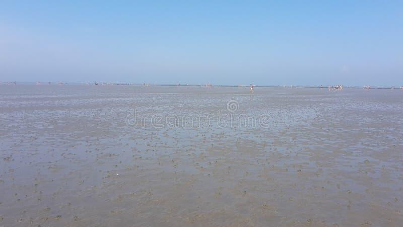 La bassa marea a Balitc vede immagini stock