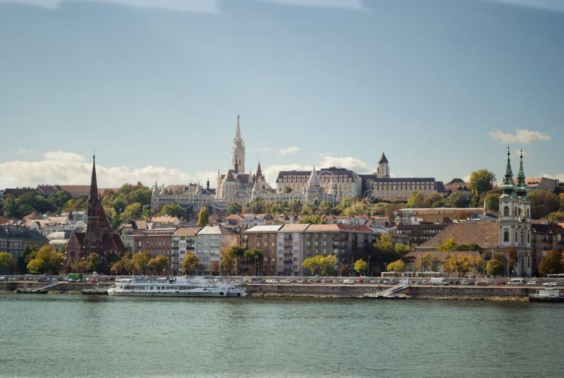 La bastion du pêcheur à Budapest (Hongrie) photos libres de droits